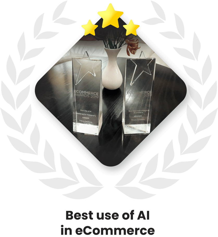 Best use of AI in eCommerce award